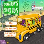بازی اتوبوس مدرسه باب اسفنجی