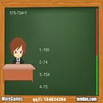 بازی امتحان ریاضی