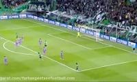 اسپورتینگ 1-2 رئال مادرید آذر 95