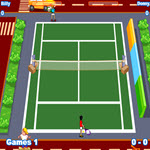بازی آنلاین دو نفره تنیس